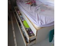 FREE Bespoke Single Bed With Storage Drawer & Guest Bed