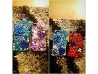 hand made customised iphone 5/5s & 6/6+ phone cases