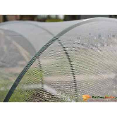 Nature Anti-insect Net 2x10m Transparent Plant Protective Mosquito Screen