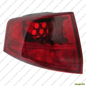 All Makes and Models Tail Light Taillight Lamp Driver Side Left Side