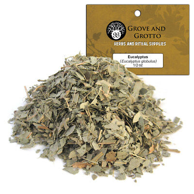 Eucalyptus Leaf 1/2 oz Package Ritual Herb ORGANIC C/S by Grove and Grotto