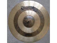 Turkish Duo Ride Cymbal 21 inch; (with stand)