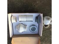 Shower fan kit
