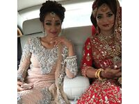 Asian bridal/party hair and makeupartist trained by Mushrat and Julie Ali Mua
