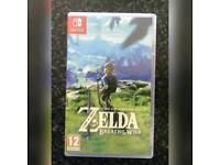 Nintendo switch zelda....