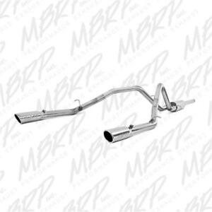 MBRP 3 XP Series Dual Exit Catback Exhaust System | Fits GM 2014-2018 Silverado & Sierra 5.3L V8 or 4.3L V6