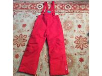 Kids snow pants Mountain Warehouse age 9-10 good as new worn once