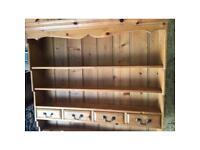 Kitchen dresser freestanding top