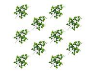 Artificial Leaves Grape 10 pcs Green 70 cm-280124