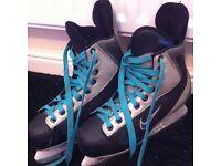Nike Ice Skates (Blue/Grey/Black)
