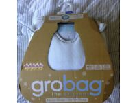 Brand New Grobag 0-6 months 3.5 tog - Seal design