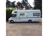 Mercedes Autotrail Scout, Automatic, RHD, C/w wind out awning,Rev.Camera, Solar Panels, Etc. £24,500