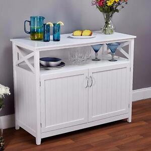 Galley Buffet by Breakwater Bay WHITE NEW