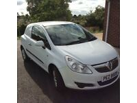 Vauxhall Corsa 1.3 CDTI mot.d for 1 year, new shape, excellent condition, full service history