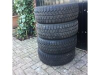 4x winter snow tyres 185/60R/14