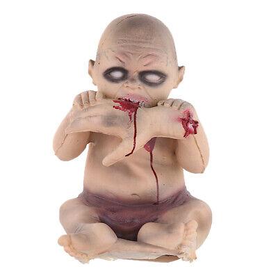cary Essen Hände Baby Doll Halloween Party Requisiten (Scary Halloween Party Essen)