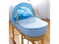 brand New Sail Away Moses Basket with stand