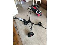 Children's Golf Clubs, Bag and Trolley