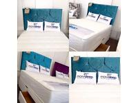 Brand New Double Bed - Mattress - Headboard - Free Delivery