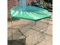 Puppy cage play pen starter set
