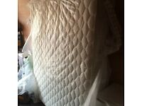 King size mattress. Ex display. Never used.