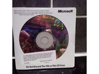 Microsoft Office 2003 Professional WITH Business Contact manager disc set