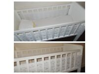 BABY CRIB COT NEWBORN BABY BED USED GOOD CONDITION