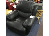 Dark Brown Recliner Chair