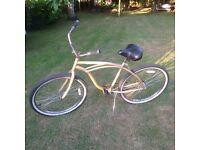 American beach cruiser bike made by Huffy