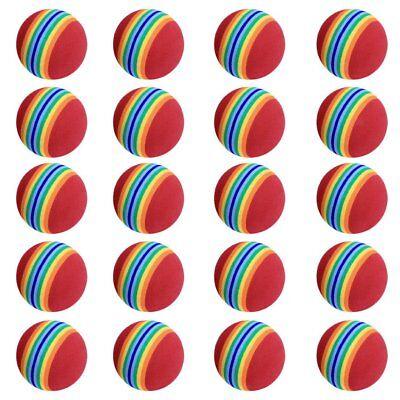 10Pcs Foam Sponge Golf Balls Soft Training Balls Elastic Light Indoor Outdoor