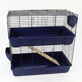 Large indoor 2 tier cage