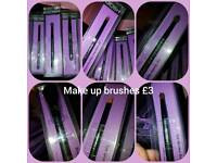 GOSH make up brushes