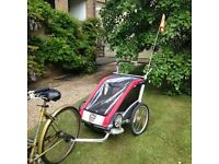 Thule Chariot Cougar Double Bike Trailer & Buggy & Jogging Stroller