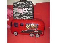 Childs Bus and dolls clothing