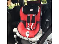 Britax dual fix car seat