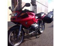 BMW R1100S Motorbike- low mileage