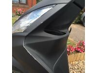2 year old, very well looked after scooter, Givi Top Box, H D Chain Lock 1.5m, Price all incl: £800