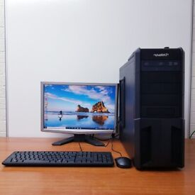 Complete Custom Build PC Computer Windows 10, Intel Core i5-3570K 16GB RAM & 500GB HDD Wifi Office