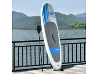 Costway UK 305 cm/10 ft Inflatable Stand up Surfing Board w/ Package