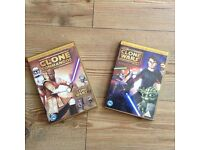 Star Wars The Clone Wars DVDs X 2