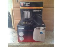BRAND NEW KETTLE AND TOASTER.