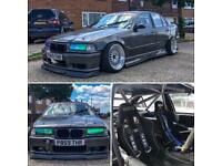 BMW 328 Drift Car Competition Ready.