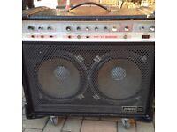 HH 100 watt IC100 VALVE SOUND COMBO.VINTAGE AND RARE 1970s