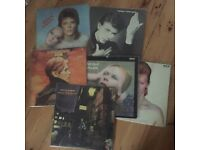 Collection of classic DAVID BOWIE records, 6 in total.. Rock, Pop Vinyl