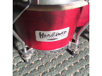 Bongos for sale made by 'Headliner'