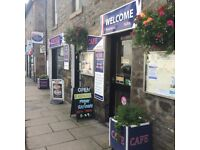 Cafe, Chinese Restaurant, Take Away Business for Sale Or Lease in Aberfeldy