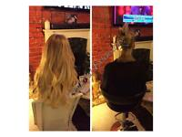 Newest method-No damage-No glue-No deposits-Full stock-Russian Hair Extensions