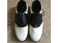 Mens Boys White Slazenger Golf Shoes Accessories - Size 9