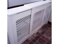 Adjustable radiator cover