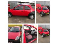 1.3 ford ka for sale , great ideal 1st car - low miles for year
